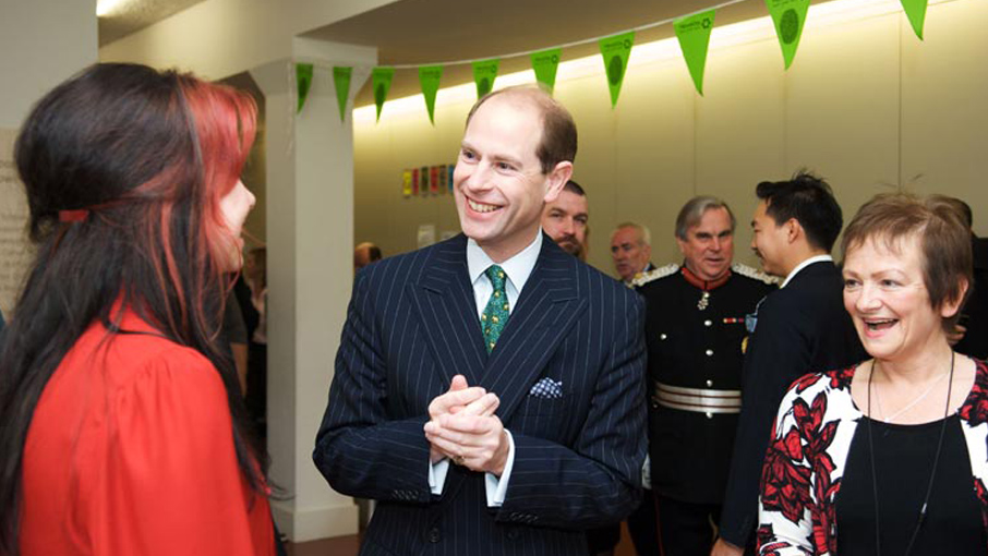 Prince Andrew Visit
