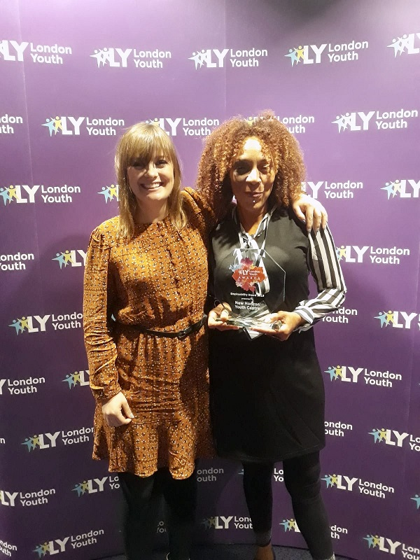 London Youth Awards Janet and Emma 1