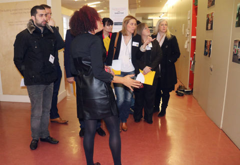 Children in Need Funders Visit New Horizon